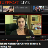 Ilana Jacqueline on Huffington Post Life with Author, Richard Cohen